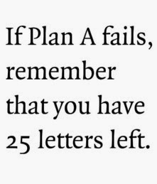 Plan A 25 Letters