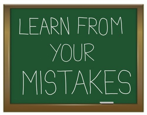 mistakes and learn