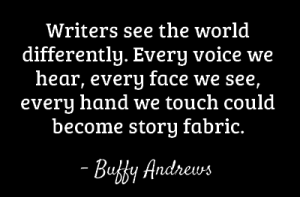 Writers Buffy Andrews