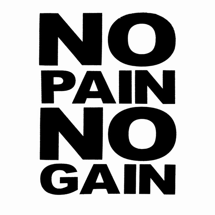No Pain No Gain Quotes