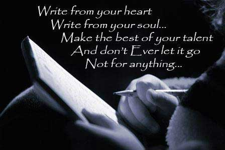 quote on writing
