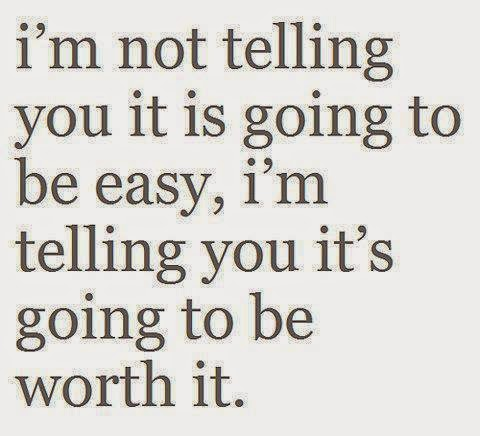 telling you it's worth it quote