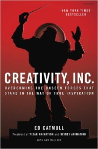 Creativity, Inc. by Ed Catmull book cover